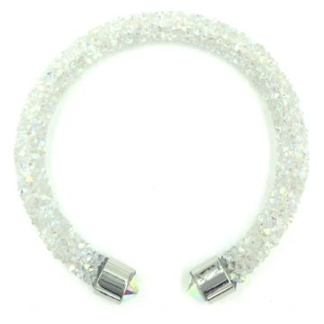 Sparkle dust cuff bracelet kit - clear AB